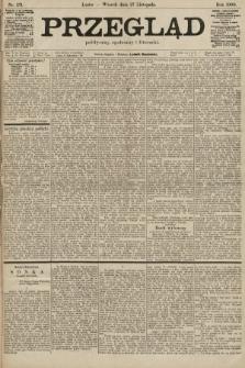 Przegląd polityczny, społeczny i literacki. 1900, nr271