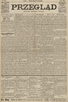 Przegląd polityczny, społeczny i literacki. 1900, nr272
