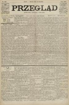 Przegląd polityczny, społeczny i literacki. 1900, nr292