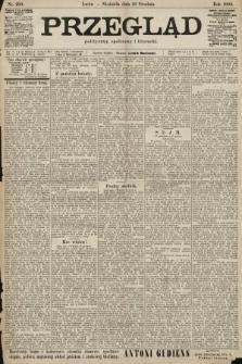 Przegląd polityczny, społeczny i literacki. 1900, nr293