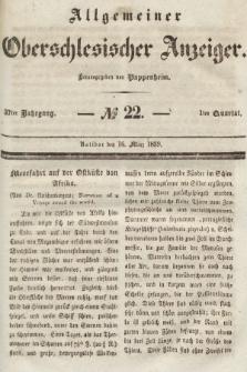 Allgemeiner Oberschlesischer Anzeiger : Blätter zur Besprechung und Förderung provinzieller Interessen zur Belehrung und Unterhaltung. 1839, nr1840
