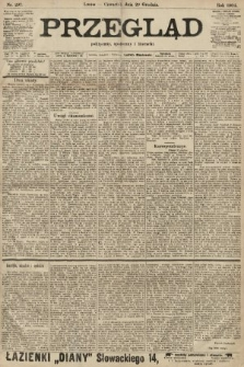 Przegląd polityczny, społeczny i literacki. 1904, nr297