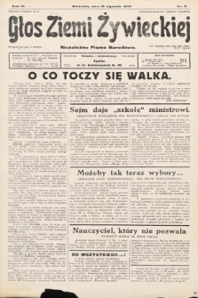 Głos Ziemi Żywieckiej : tygodnik społeczno-narodowy. 1930, nr6