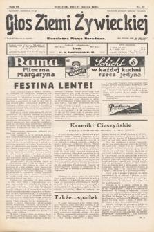 Głos Ziemi Żywieckiej : tygodnik społeczno-narodowy. 1930, nr21