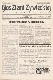 Głos Ziemi Żywieckiej : tygodnik społeczno-narodowy. 1930, nr30