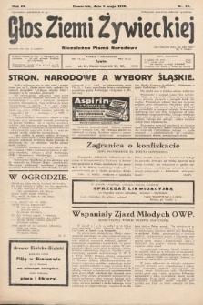 Głos Ziemi Żywieckiej : tygodnik społeczno-narodowy. 1930, nr35