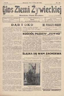 Głos Ziemi Żywieckiej : tygodnik społeczno-narodowy. 1930, nr85