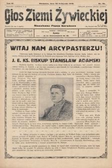Głos Ziemi Żywieckiej : tygodnik społeczno-narodowy. 1930, nr93