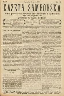 Gazeta Samborska : pismo poświęcone sprawom ekonomicznym i społecznym okręgu: Sambor, Stary Sambor, Turka. 1907, nr23