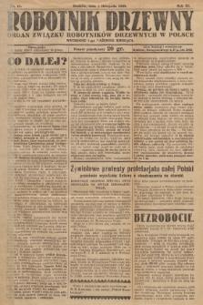 Robotnik Drzewny : organ Związku Robotników Drzewnych w Polsce. 1929, nr11