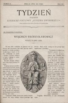 """Tydzień : dodatek literacko-naukowy """"Kurjera Lwowskiego"""". 1905, nr30"""