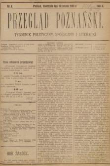Przegląd Poznański : tygodnik polityczny, społeczny i literacki. 1895 [całość]