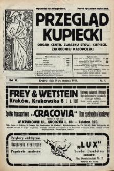 Przegląd Kupiecki : organ Centr. Związku Stow. Kupieck. Zachodniej Małopolski. 1923, nr4