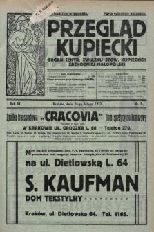 Przegląd Kupiecki : organ Centr. Związku Stow. Kupieckich Zachodniej Małopolski. 1923, nr9