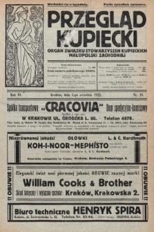 Przegląd Kupiecki : organ Związku Stowarzyszeń Kupieckich Małopolski Zachodniej. 1923, nr35