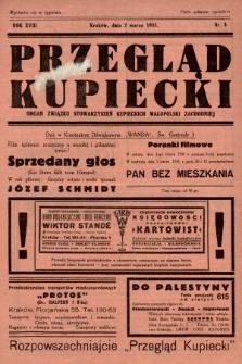 Przegląd Kupiecki : organ Związku Stowarzyszeń Kupieckich Małopolski Zachodniej. 1935, nr8