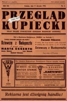 Przegląd Kupiecki : organ Związku Stowarzyszeń Kupieckich Małopolski Zachodniej. 1936, nr1