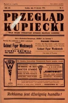 Przegląd Kupiecki : organ Związku Stowarzyszeń Kupieckich Małopolski Zachodniej. 1936, nr2