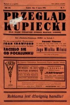 Przegląd Kupiecki : organ Związku Stowarzyszeń Kupieckich Małopolski Zachodniej. 1936, nr9
