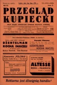 Przegląd Kupiecki : organ Związku Stowarzyszeń Kupieckich Małopolski Zachodniej. 1936, nr22