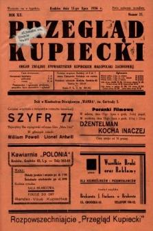 Przegląd Kupiecki : organ Związku Stowarzyszeń Kupieckich Małopolski Zachodniej. 1936, nr23