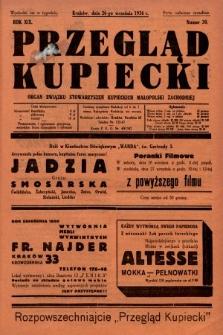 Przegląd Kupiecki : organ Związku Stowarzyszeń Kupieckich Małopolski Zachodniej. 1936, nr30