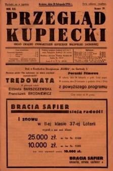 Przegląd Kupiecki : organ Związku Stowarzyszeń Kupieckich Małopolski Zachodniej. 1936, nr39