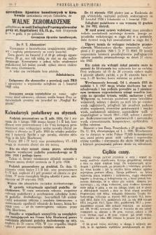 Przegląd Kupiecki : [organ Związku Stowarzyszeń Kupieckich Małopolski Zachodniej. 1925, nr 2]