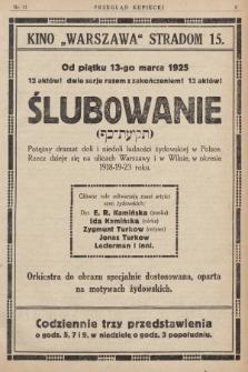 Przegląd Kupiecki : [organ Związku Stowarzyszeń Kupieckich Małopolski Zachodniej. 1925, nr 11]