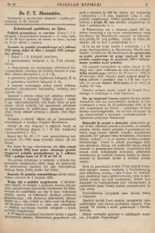 Przegląd Kupiecki : [organ Związku Stowarzyszeń Kupieckich Małopolski Zachodniej. 1925, nr 29]