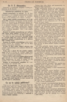 Przegląd Kupiecki : [organ Związku Stowarzyszeń Kupieckich Małopolski Zachodniej. 1925, nr 30]