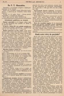 Przegląd Kupiecki : [organ Związku Stowarzyszeń Kupieckich Małopolski Zachodniej. 1925, nr 33]