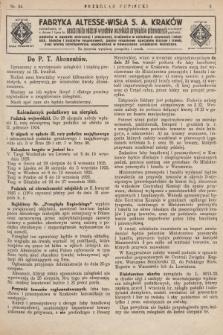 Przegląd Kupiecki : [organ Związku Stowarzyszeń Kupieckich Małopolski Zachodniej. 1925, nr 34]