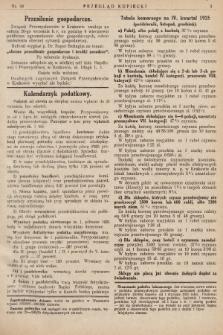Przegląd Kupiecki : [organ Związku Stowarzyszeń Kupieckich Małopolski Zachodniej. 1925, nr 39]