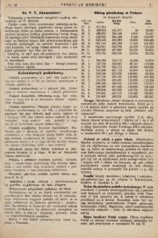 Przegląd Kupiecki : [organ Związku Stowarzyszeń Kupieckich Małopolski Zachodniej. 1925, nr 43]