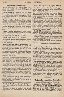 Przegląd Kupiecki : [organ Związku Stowarzyszeń Kupieckich Małopolski Zachodniej. 1925, nr 45]