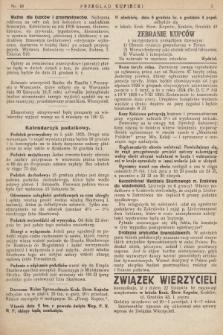 Przegląd Kupiecki : [organ Związku Stowarzyszeń Kupieckich Małopolski Zachodniej. 1925, nr 49]