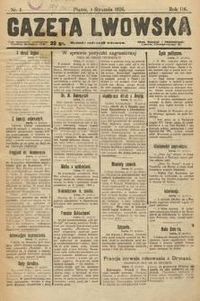 Gazeta Lwowska. 1926, nr1