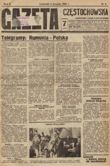 Gazeta Częstochowska : codzienne pismo ilustrowane. 1938, nr4