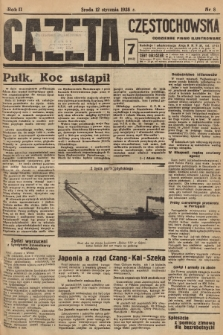 Gazeta Częstochowska : codzienne pismo ilustrowane. 1938, nr8