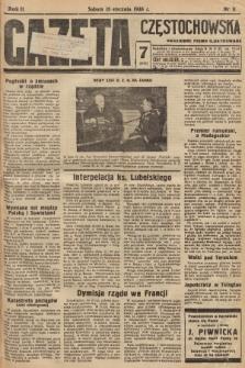 Gazeta Częstochowska : codzienne pismo ilustrowane. 1938, nr11