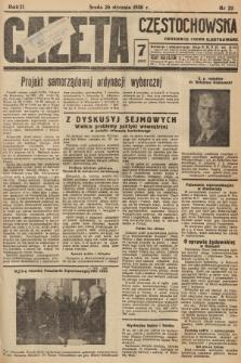 Gazeta Częstochowska : codzienne pismo ilustrowane. 1938, nr20