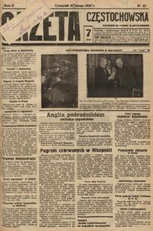 Gazeta Częstochowska : codzienne pismo ilustrowane. 1938, nr32