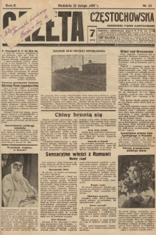 Gazeta Częstochowska : codzienne pismo ilustrowane. 1938, nr35