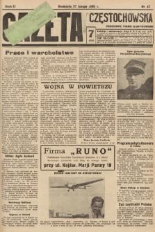 Gazeta Częstochowska : codzienne pismo ilustrowane. 1938, nr47