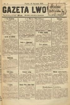 Gazeta Lwowska. 1926, nr11
