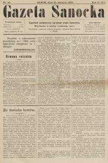 Gazeta Sanocka : tygodnik poświęcony sprawom ziemi Sanockiej. 1905, nr56