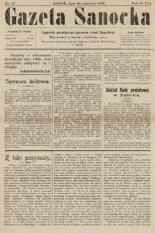 Gazeta Sanocka : tygodnik poświęcony sprawom ziemi Sanockiej. 1905, nr57