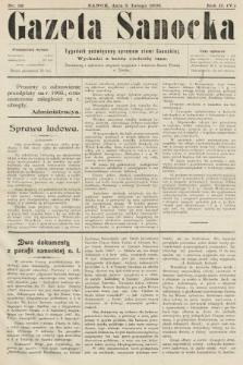 Gazeta Sanocka : tygodnik poświęcony sprawom ziemi Sanockiej. 1905, nr58