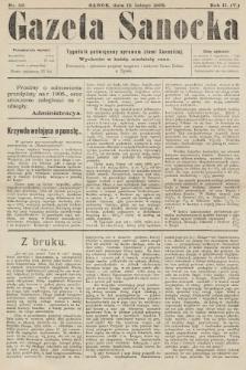 Gazeta Sanocka : tygodnik poświęcony sprawom ziemi Sanockiej. 1905, nr59